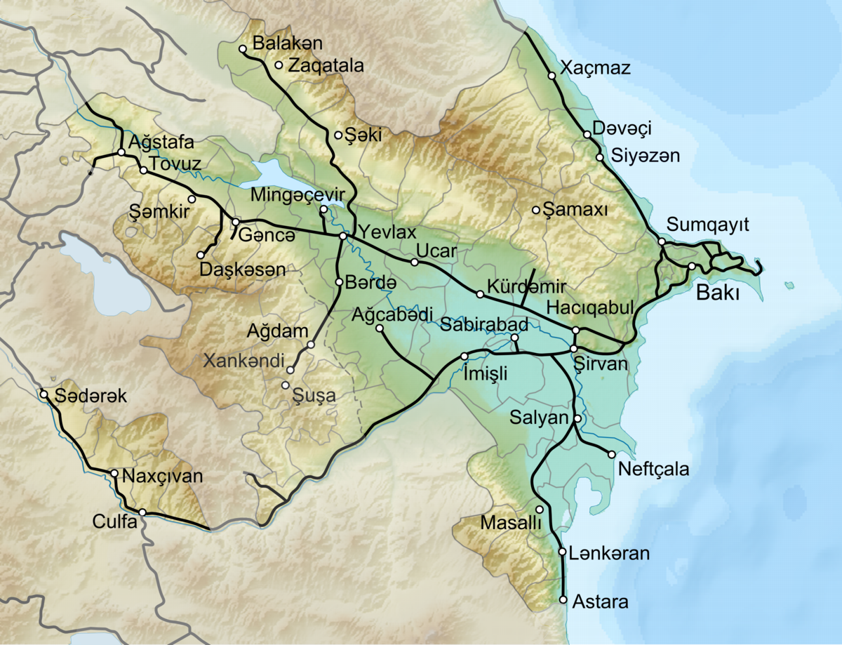 Azerbaijan Railways  Wikipedia