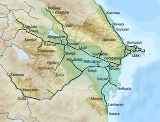 National railway company of Azerbaijan