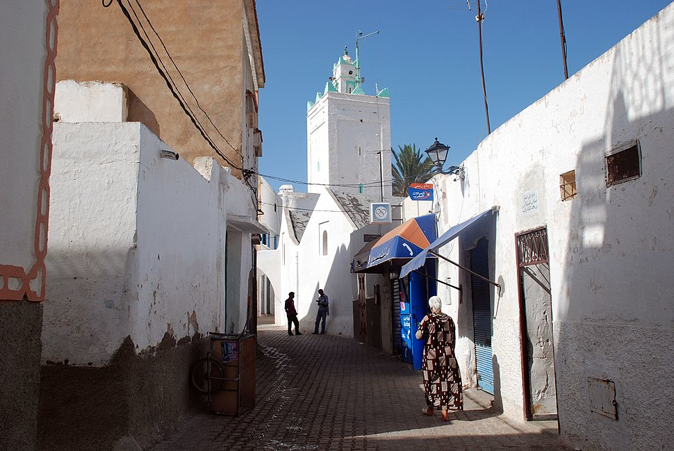 Azzemour,oldmosque