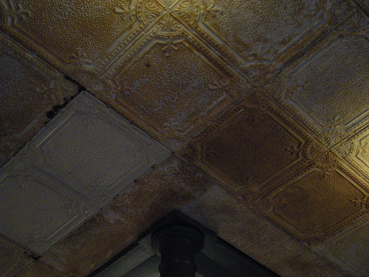 Tin ceiling - Wikipedia