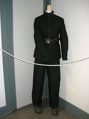 Ulster Special Constabulary - B-Specials uniform, in the Free Derry Museum