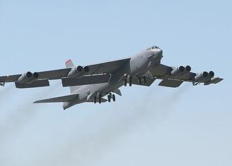 Salvador E. Felices - B-52 - Type of aircraft flown by Felices