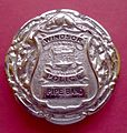 BADGE - Canada - ON - City of Windsor Police Pipe Band (Plaid Brooch) (2240414316).jpg