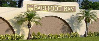 Barefoot Bay, Florida - Image: BBRD1