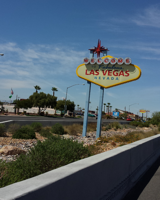 Welcome to Fabulous Las Vegas sign - Boulder Highway Welcome to Fabulous Las Vegas sign