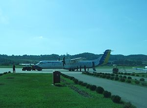 BH Airlines - Banja Luka airport - Aug-10 v1