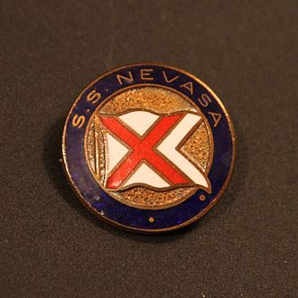 British-India Steam Navigation Company - Image: BI Nevasa badge