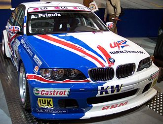 2005 World Touring Car Championship - Andy Priaulx won the Drivers' Championship at the wheel of a BMW 320i