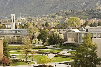 Brigham Young University - Overlooking North Campus