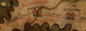 Seleucia - Seleucia in the 4th century on the Peutinger Map.