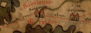 Seleucia - Seleucia in the 4th century on the Peutinger Map.