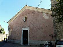 La pieve parrocchiale dei Santi Stefano e Margherita nella frazione di Baccano
