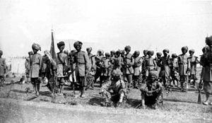 Bahawalpur Regiment - Image: Bahawalpur Infantry Delhi 1903