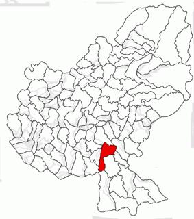Bălăușeri Commune in Mureș, Romania