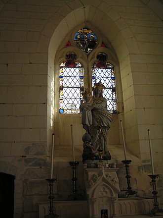Balignicourt - Image: Balignicourt Église (4)
