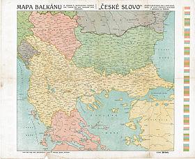 Τα Βαλκάνια πριν τους Βαλκανικούς Πολέμους