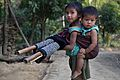 Bandarban Tribal kid Sisterhood.jpg