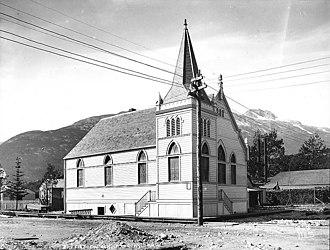 Eric A. Hegg - First Baptist Church in Skagway ca. 1899