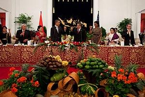 Istana Negara (Jakarta) - State banquet in Istana Negara during President Obama's visit in 2010