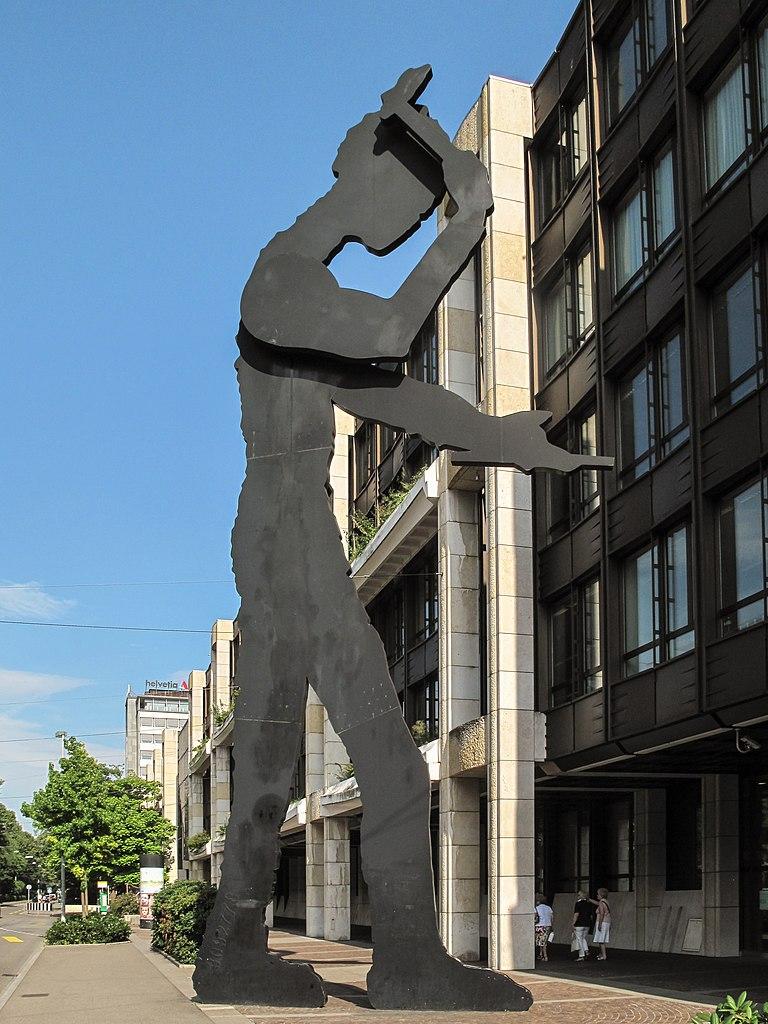 Filebasel, Kinetisch Sculptuur Voor De Ubsbank Aan De