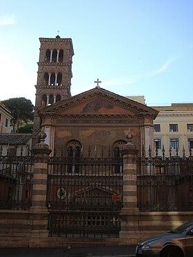 Rome Chrétienne et ses monuments - EUGENE DE LA GOURNERIE - 1867 280px-Basilique_Santa_Pudenziana
