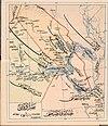 Basra Vilayet — Memalik-i Mahruse-i Shahane-ye Mahsus Mukemmel ve Mufassal Atlas (1907).jpg