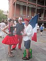 Bastille Day NOLA 2013 Old Mint Patriots.JPG