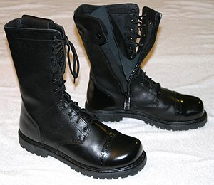 "Jump boot - Bates Enforcer Series 11"" side zip Paratrooper Jump Boots"
