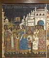 Battle between Novgorod and Suzdal (fresco) 01.jpg
