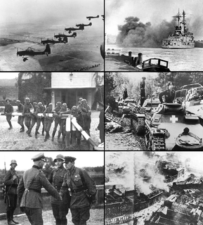 invasion of Poland by Germany, the Soviet Union, and a small Slovak contingent