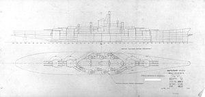 Montana-class battleship - 1940 study plan