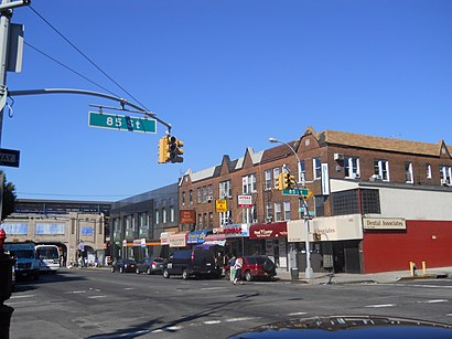 How to get to Bensonhurst with public transit - About the place