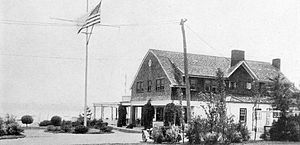 Bayside, Queens - Bayside Yacht Club on Little Neck Bay, 1917