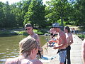 Beach at Johannisberg camping during Power Big Meet 2005 3.jpg