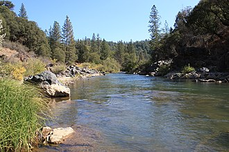 Bear River (Feather River tributary) - Bear River in the Sierra foothills
