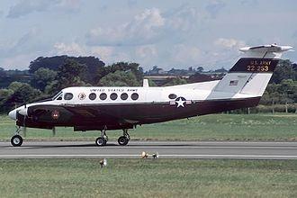 Beechcraft C-12 Huron - U.S. Army C-12A