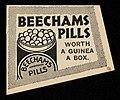 Beechams Pills. Worth a guinea a Box from August 1859.jpg