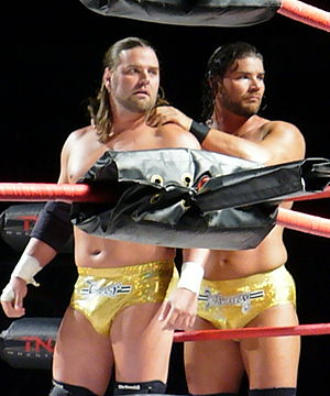 James Storm - Beer Money; Storm (left) and Roode