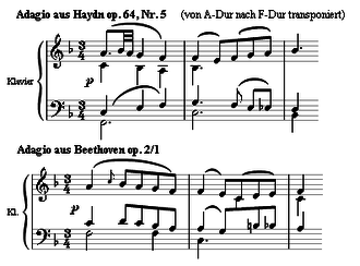 exemple partition Beethoven