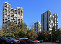 Belgrade. Apartment buildings near Aviators Squaire.jpg