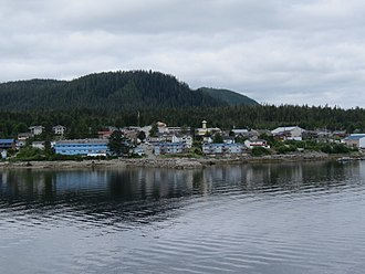 Bella Bella, British Columbia - Bella Bella from the water