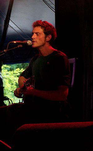 Ben Taylor (musician) - Ben Taylor in concert in Mullingar, Ireland, July 2007