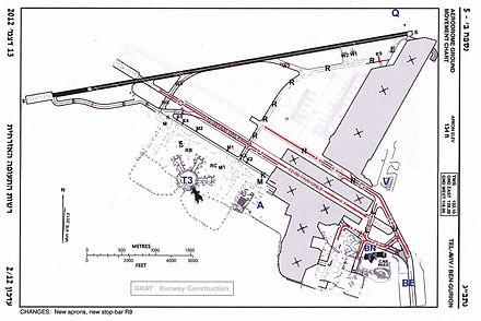 Схема аэропорта, 2012 г.