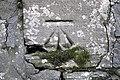 Bench Mark, Belfast - geograph.org.uk - 1744157.jpg