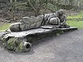 Bench on the High Peak Trail, near Cromford - geograph.org.uk - 14380.jpg