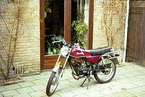 De Benelli T50 bromfiets verscheen in 1970