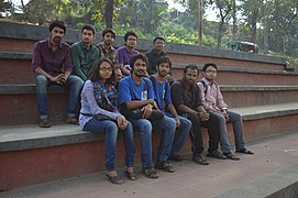 Bengali Wikipedians at Wikipedia 15 good article edit-a-thon and adda, Chittagong 1 (24).jpg