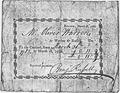Benjamin Russell Receipt March 31, 1785 - NARA - 192860.tif