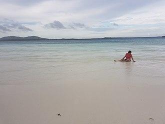 Balabac, Palawan - Benlen Sandbar