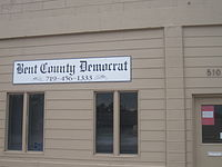 Bent County Democrat newspaper, Las Animas, CO IMG 5732